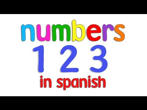 spanish numbers 1-10 for children