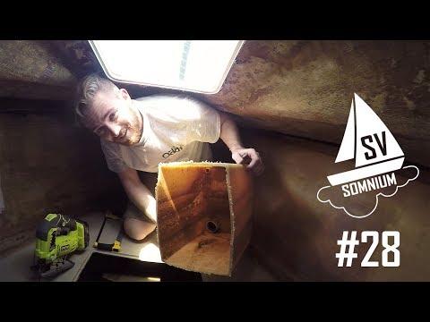 28. We Cut Our Holding Tank In Half! - Sailing Vessel Somnium