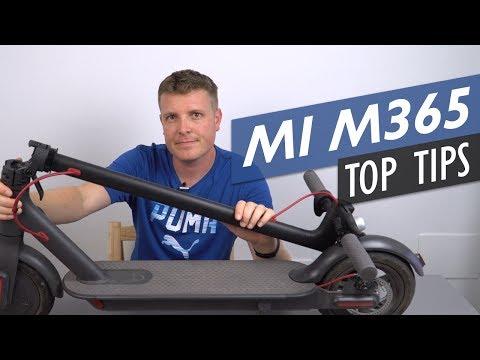 Five Tips To Get The Most Out Of Your Xiaomi Mi M365 Electric Scooter