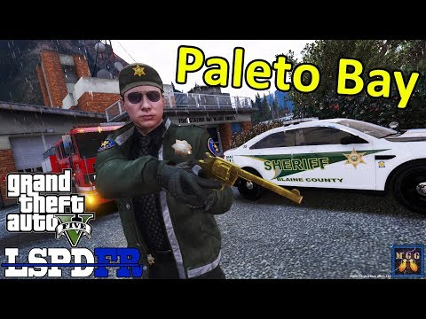Blaine County Sheriff Detective Patrol in a Ford Taurus | GTA 5 LSPDFR Episode 303