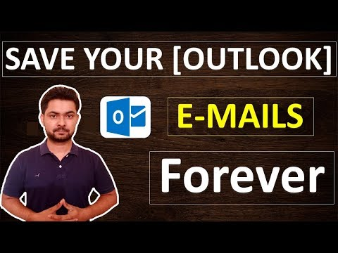 How to export and import Microsoft outlook 2016 data to laptop or hard drive  HINDI