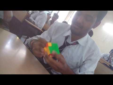Rubik's Cube Solve in 47 sec.by kapil bhatt