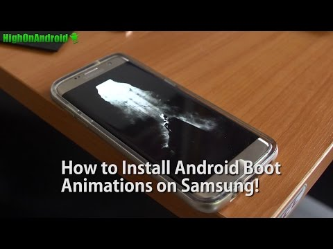 How to Install Android Boot Animations on Samsung Phone using QMG Files!