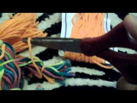 D.i.Y yarn doll