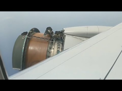Engine on United Airlines plane falls apart on flight to Hawaii