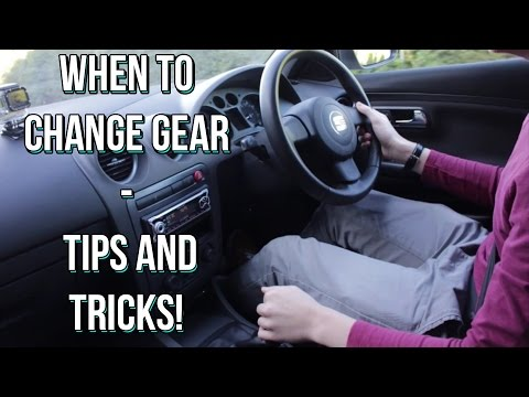 When to Change Gear in a Manual Car - Stick Shift Tips and Tricks!