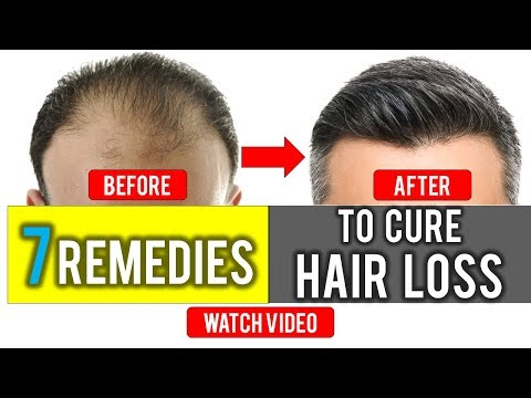7  Amazing Easy Home Remedies to Cure Hair Loss - Hair loss Treatment
