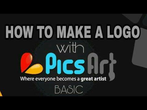 PicsArt tutorial :- HOW TO MAKE A LOGO WITH PICSART