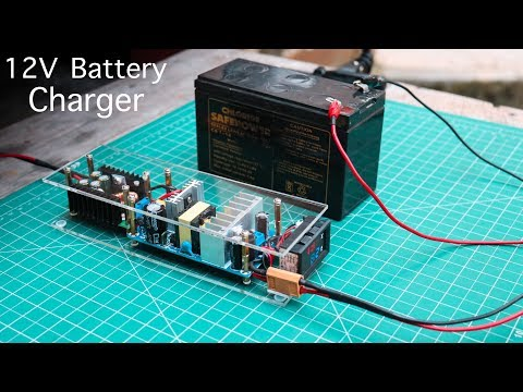 How to Make a 12V Battery Charger ( Automatic )