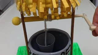 Plastic Bottle Crafts: Making A Water Well - Recycled Bottles Crafts