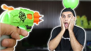 MOST DANGEROUS NERF MOD TRICK SHOTS OF ALL TIME!!! (EXTREME NERF GUN) *GONE WRONG*