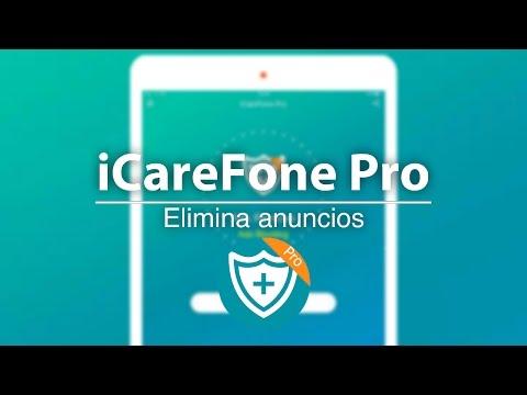 iCareFone Pro    Elimina publicidad de Apps   Juegos   Páginas Web   iOS