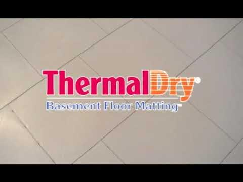 ThermalDry Flooring for warmer floors