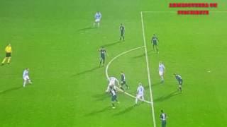 Celta de Vigo 3 vs Málaga 1 Gol de Wass