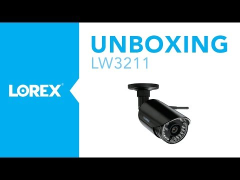Unboxing the LW3211 Wireless Bullet Security Camera