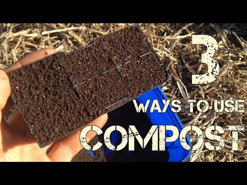 3 Ways to Use Compost in Your Vegetable (or any) Garden