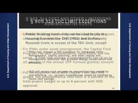 Capital Fund Regulation Training
