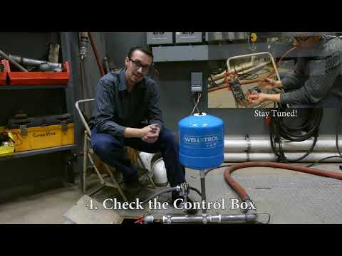 Troubleshoot: Water Well Pump Does Not Start