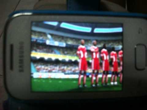 เล่นเกมส์ Real Football 2011 บน samsung galaxy pocket