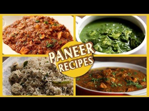 Paneer Recipes | Easy & Restaurant Style | Paneer Butter Masala, Tikka, Bhurji | Recipe by Archana