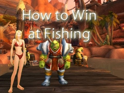 How to Win at Fishing by Wowcrendor (WoW Machinima)