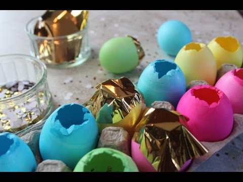 How to make Cascarones (Confetti Eggs) for Easter