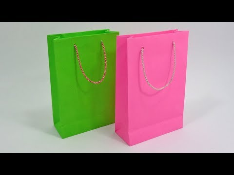 Paper Bag Making At Home || How To Make Shopping Bag With Paper