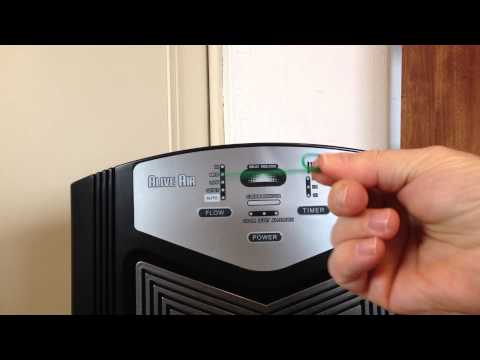 ALIVE AIR PURIFIER - Resetting the cleaning and replacement lights