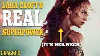 Lara Croft's Real Superpower (It's Her Neck)