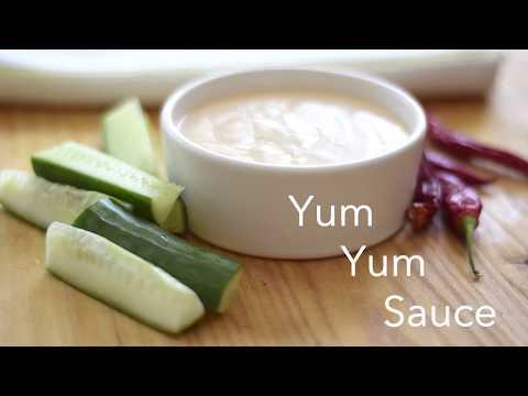 Homemade Yum Yum Sauce