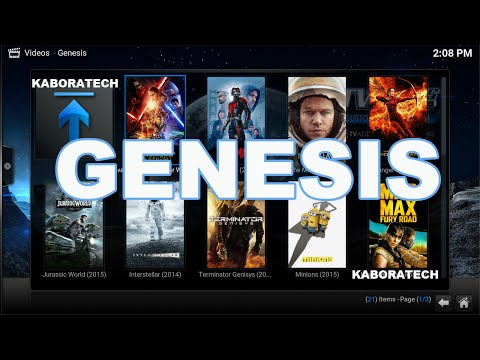 How to install GENESIS add on