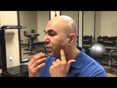 How to treat jaw muscle trigger points - tmj muscle pain and joint stiffness relief