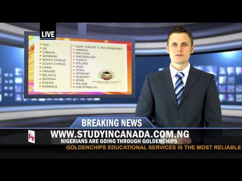 Breaking News for Nigerians who want to STUDY IN CANADA or other countries.