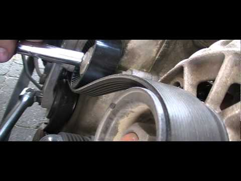 How to Replace a Drive Belt Idler Pulley on a 4.6L Ford
