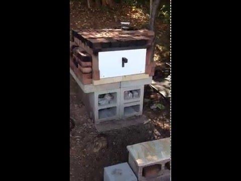 Easy DIY Brick Pizza Oven- Part 1-