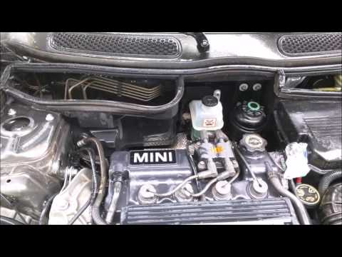 How To Clean Muddy Engine Bay in 2006 MINI Cooper with Gunk Engine Cleaner Degreaser