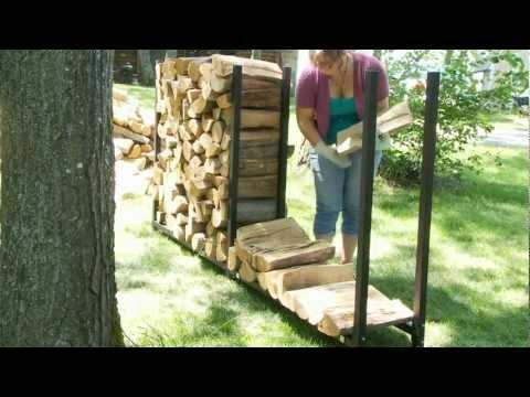 WoodEze Expandable Firewood Rack