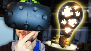 USE YOUR VIRTUAL BRAIN | The Puzzle Room VR (HTC Vive Virtual Reality)