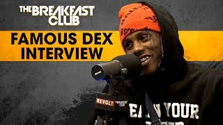 Famous Dex Addresses Domestic Abuse, Talks Stage Antics, Rich The Kid & Lil Uzi Beef + More