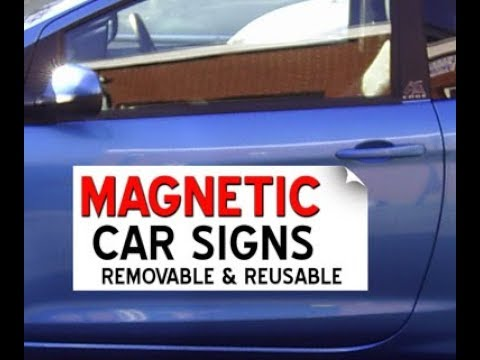 SMALL BUSINESSES MAKE MONEY BY GETTING MAGNETIC SIGNS!