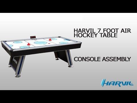 Console Assembly | Harvil 7 Foot Air Hockey Table | Dazadi.com