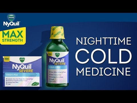 Vicks NyQuil SEVERE Product Information | Nighttime Cold Medicine