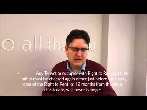 Right to Rent Guidance Immigration Act 2014 Advice for Hillingdon Landlords