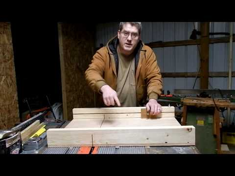 My first attempt at making a table saw sled.