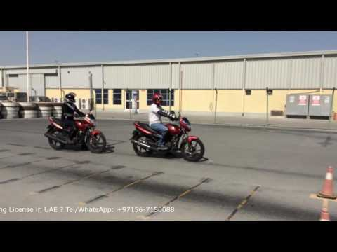 How to get Motorcycle Driving License in UAE ?