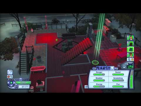 The Sims 3 Pets: Capturing a Ghost & Smooth Criminal Achievement