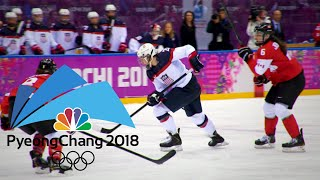 USA, Canada renew rivalry after epic 2014 gold medal game