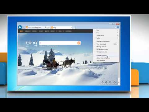 How to manage Pop-up Blocker settings in Internet Explorer® 10 Preview on a Windows® 7 PC