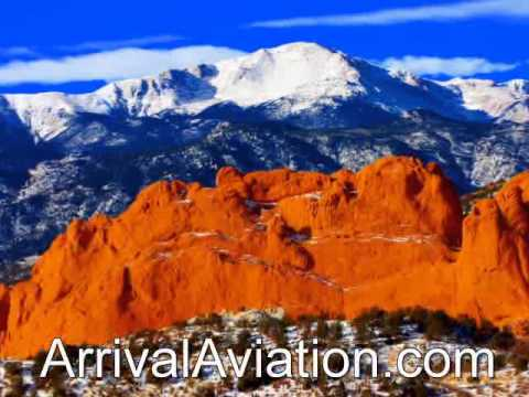 Colorado Springs Private Jet Charter Flights