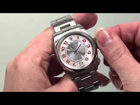 How to Set the Time for the Rolex Oyster Perpetual